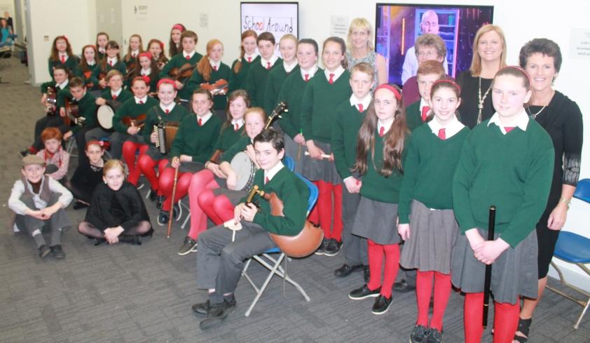 Gaelscoil Aonach Urmhumhan - School Around the Corner