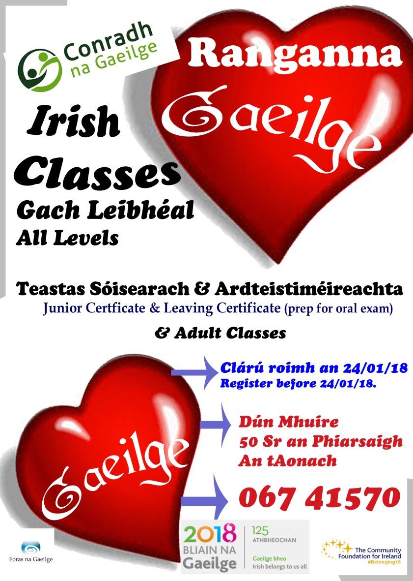 rang Gaeilge ean18