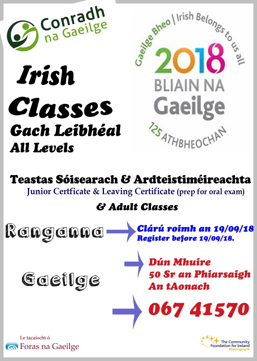 rang Gaeilge df18 2