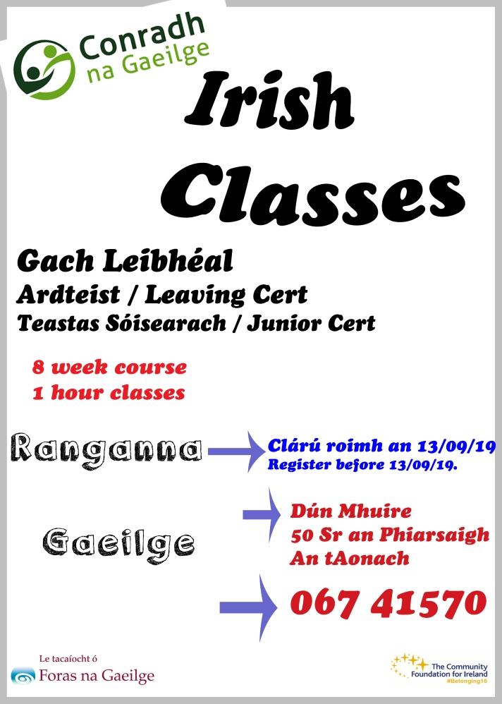 rang Gaeilge MF l19